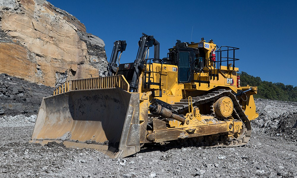 The all new Cat D11 – big on size, big on YouTube