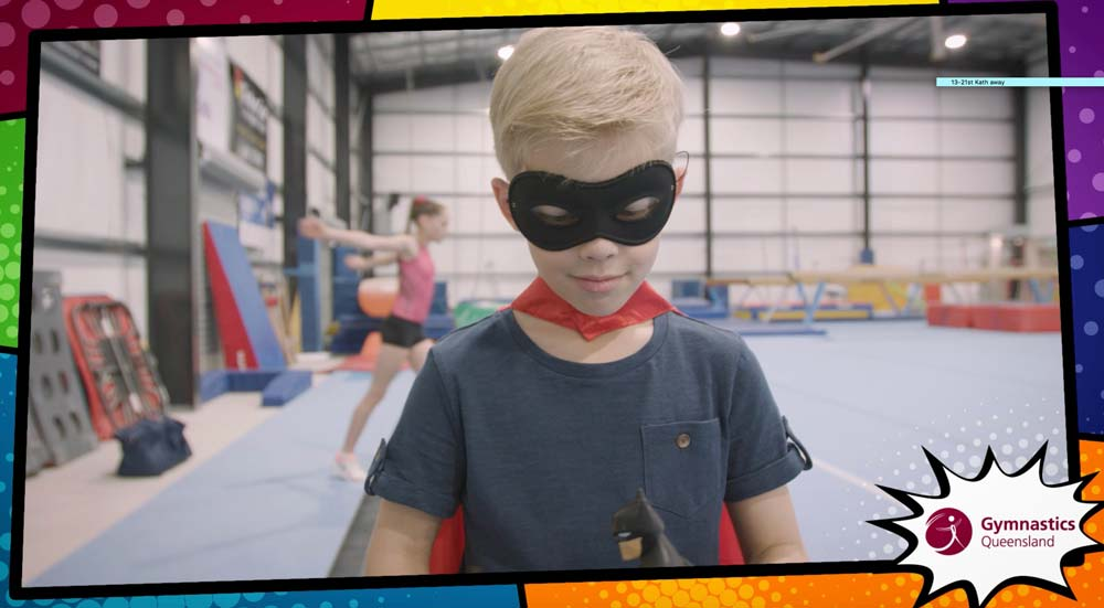 Promotional Web Video for Gymnastics Qld