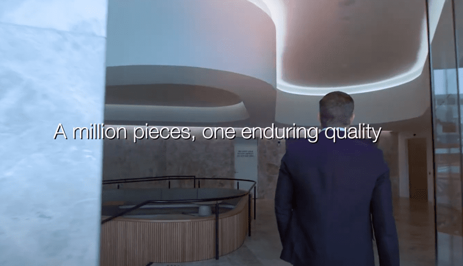 Using video to tell a company story through three different sets of eyes